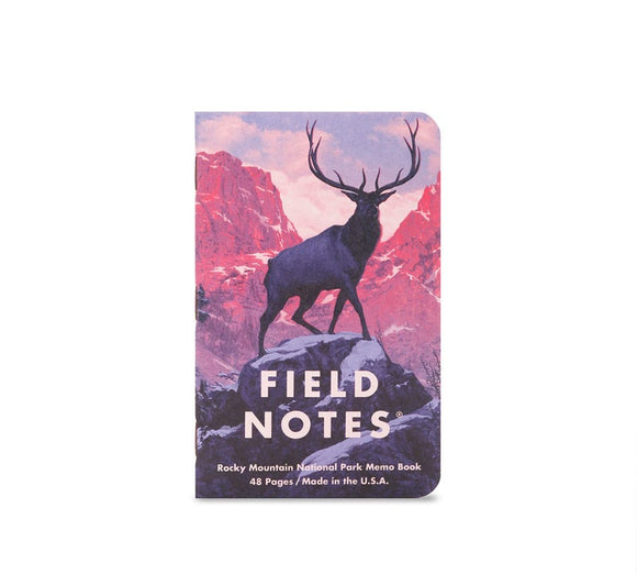 (New!) Field Notes National Parks Pocket Notebooks
