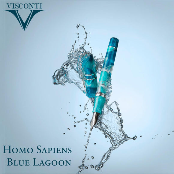 (New!) Visconti Homo Sapiens Blue Lagoon Collection!