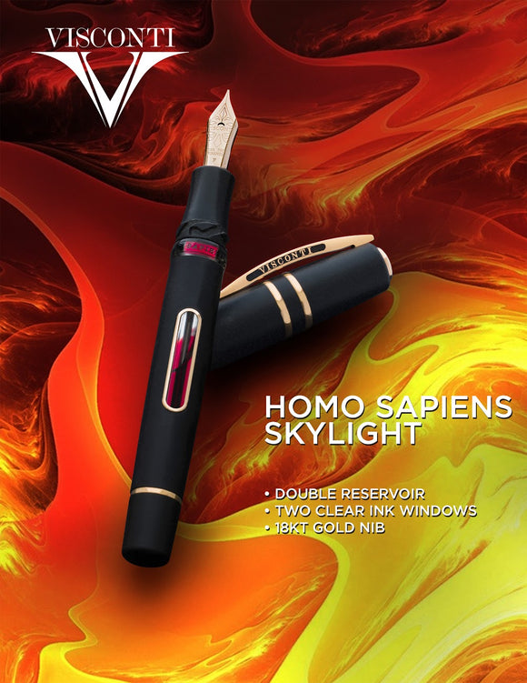 Visconti Homo Sapiens Skylight FP Collection