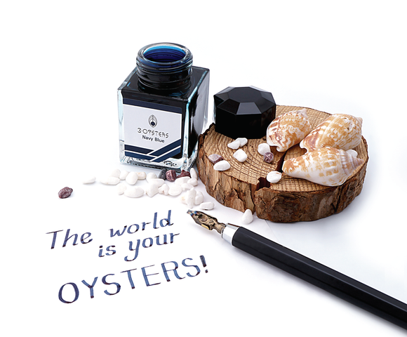 3Oysters Delicious Inks (New Colors! 38ml Bottles)