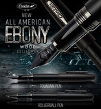 (New!) Conklin All American Golden Walnut/Ebony (Wood) Pens!