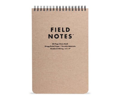 Field Notes Steno Spiral Notepad