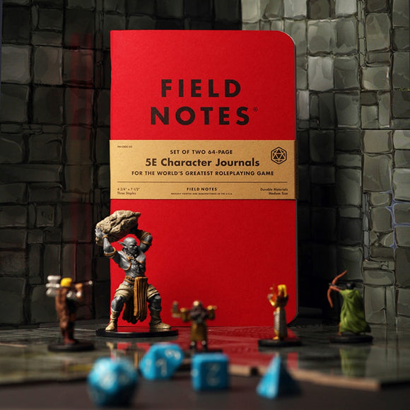 Field Notes 5E SE Character Journals!