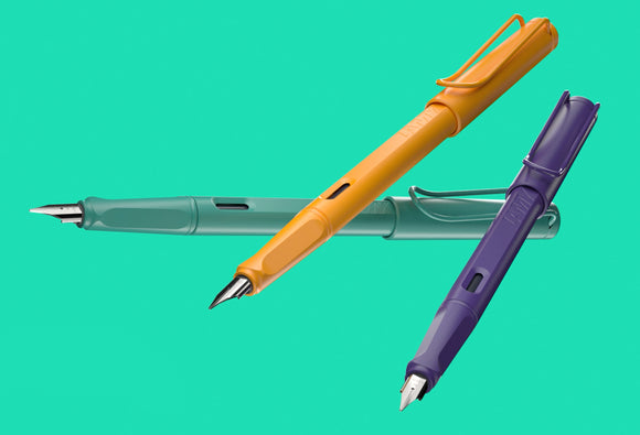 Lamy SE Candy FPs (Violet, Mango, or Aquamarine!)