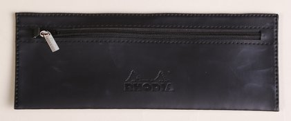 Rhodia Leather Pen/Pencil Case
