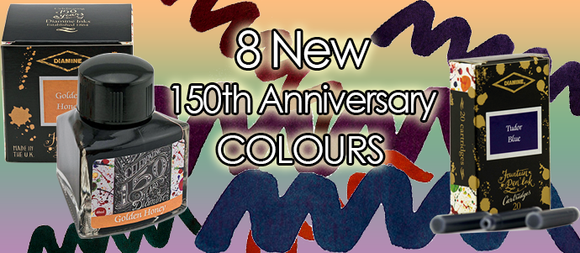 Diamine 150th Anniversary Ink Cartridges