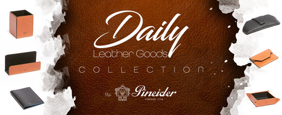 Pineider Everyday Leather Collection!