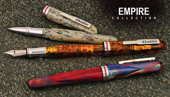 (New!)Conklin Empire Fountain Pens