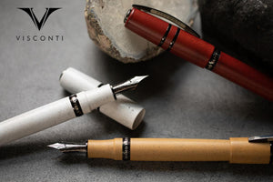 (New!) Visconti Homo Sapiens FP Colors Collection! (In-House 14k Nibs!)