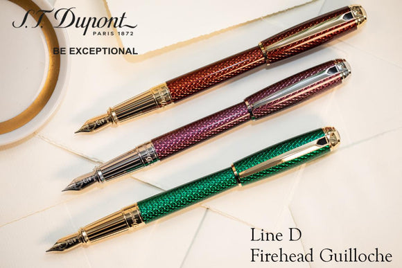 (New!) Dupont Diamond Guilloche Firehead FP/RB Collection!
