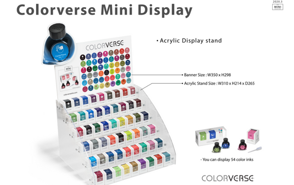(NEW!) Colorverse Ink: 5ml Samples Collection!