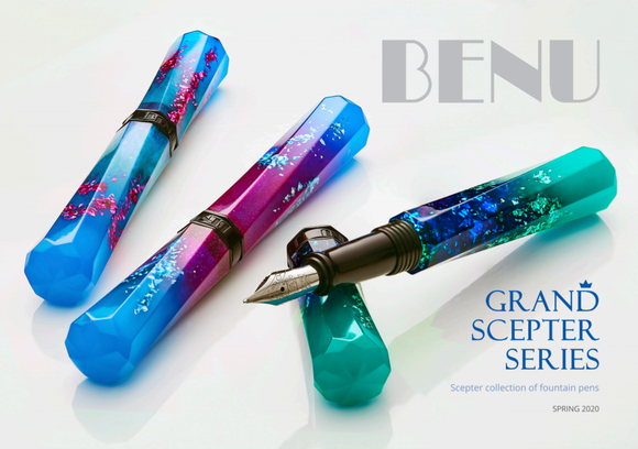 (New!) BENU Grand Scepter Fountain Pens