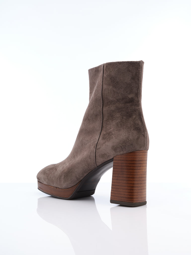 Marian Grey Suede Boot