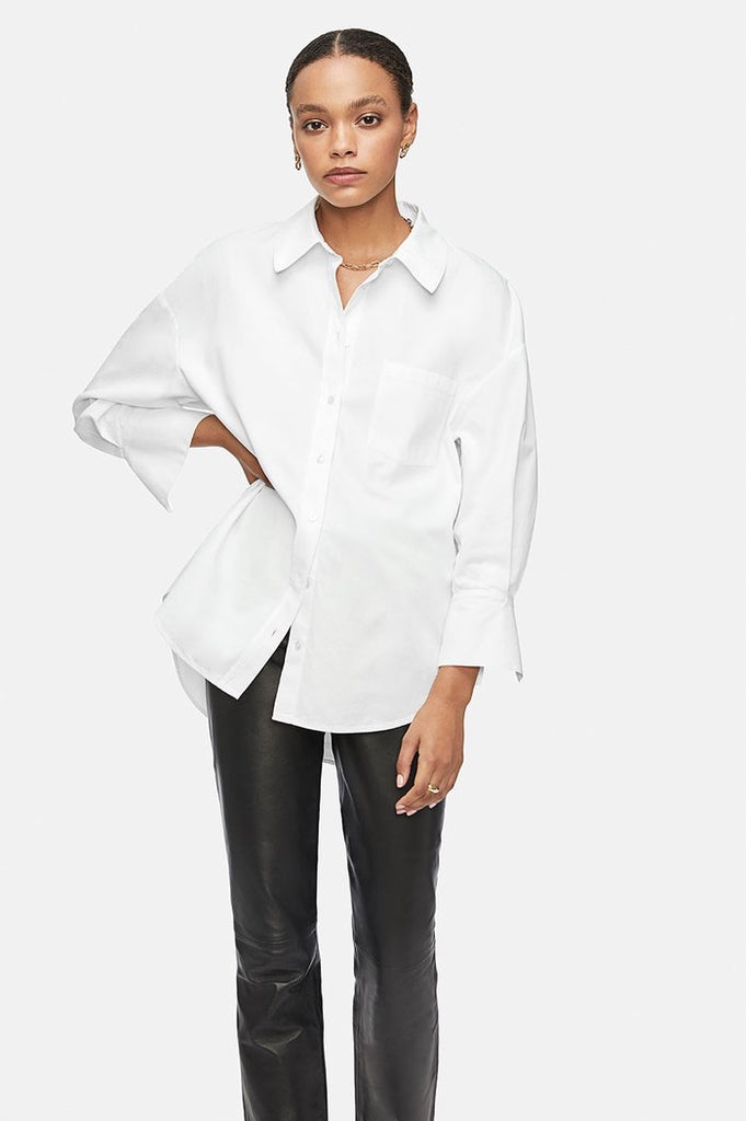 Anine Bing Mika Shirt White