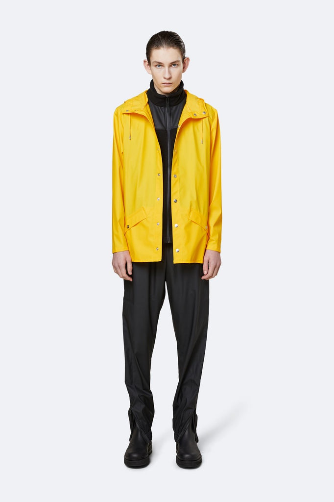 Rains Short Yellow Jacket