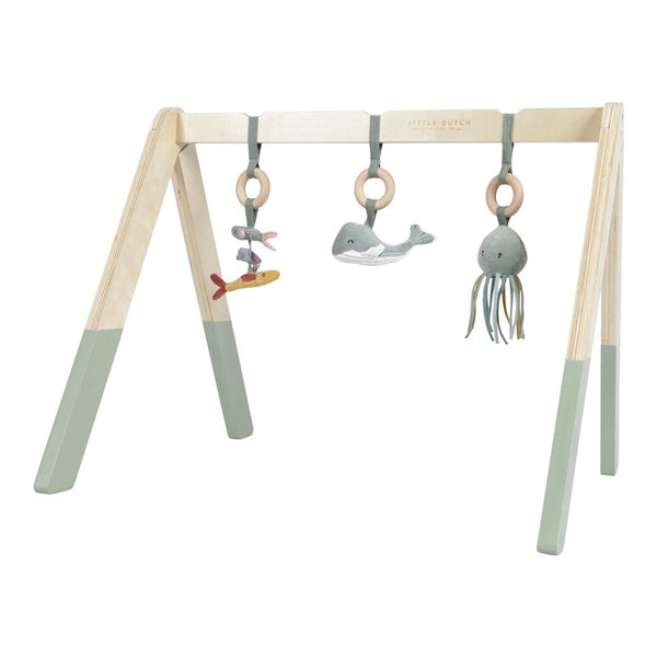 Baby Gym Menta con Juguetes ·  Little Dutch