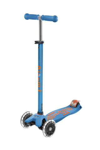 Patinete Maxi Deluxe · Azul Caribe LED