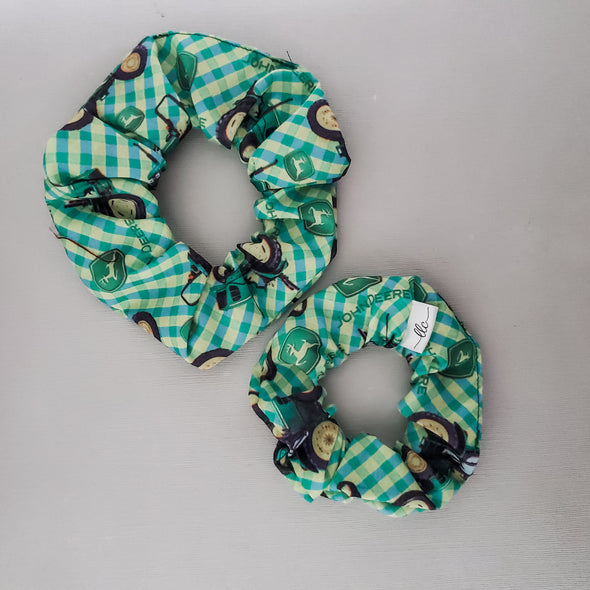 JOHN DEERE - MINI + REGULAR SCRUNCHIES