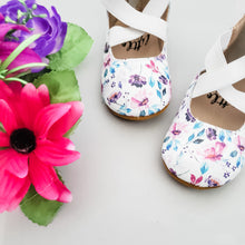 Load image into Gallery viewer, Watercolour Floral - Sammi-Jo Ballet Flats