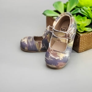 Brushed Camo - Minnie Cross Straps