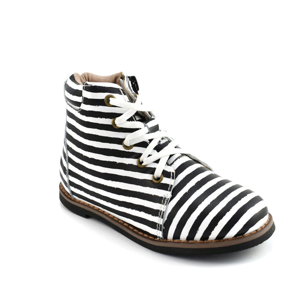 Black Stripes - Kylie Boots