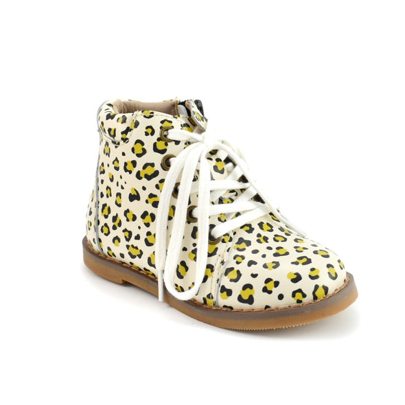 Leopard - Kylie Boots * with REAL LACES*