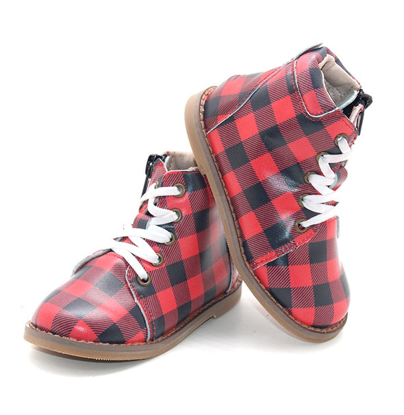 Buffalo Plaid - Kylie Boots