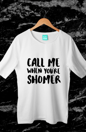 Call Me When You're Shomer - Women's Tee