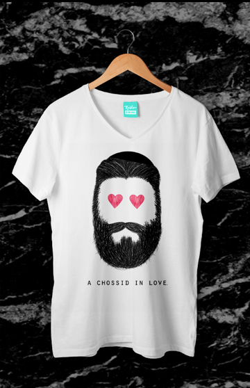 Chossid in Love - Men's Tee