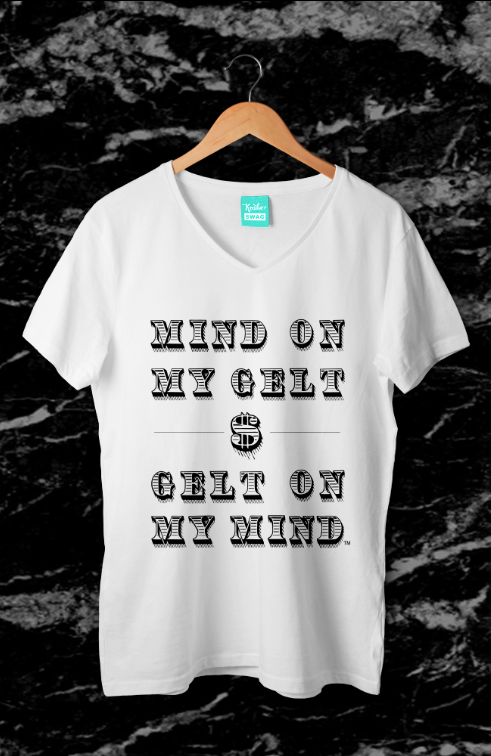 Mind On My Gelt - Men's Tee