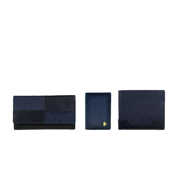 Couple Wallet & Card Case Gift Set