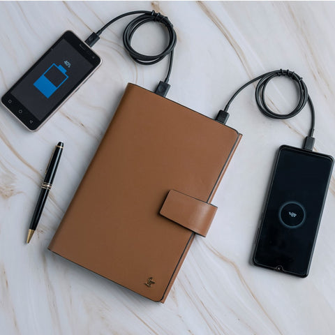 Aaron II Smart Notebook with Power Bank (5000 mAh)
