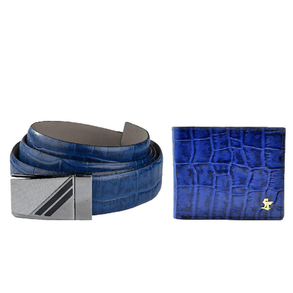 Men's Belt and Wallet Gift Set