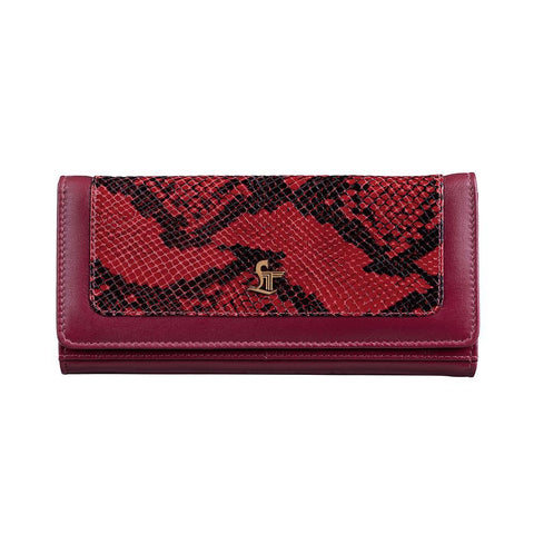 STUDDED GRACY SNAKE RED