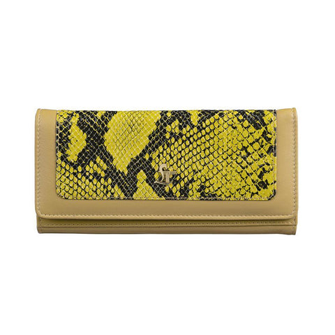 Studded Gracy Snake Yellow
