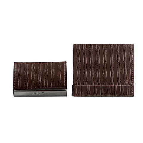 SEAGRAM + HORIZONTAL STEEL CARD CASE GIFT SET 10