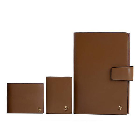 AARON WALLET+AARON II CARD CASE +  AARON NOTE BOOK GIFT SET 8