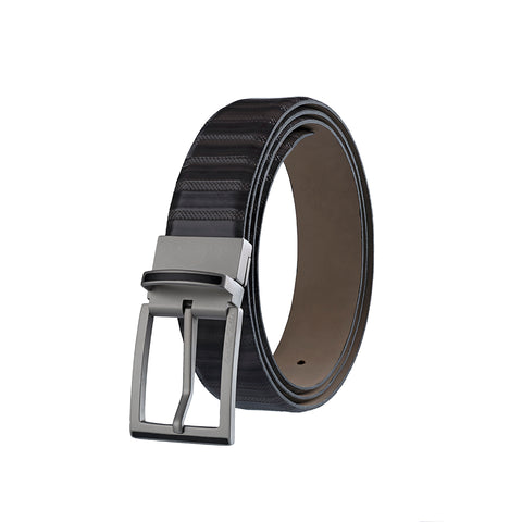 Italian VT Stripe Grey Belt