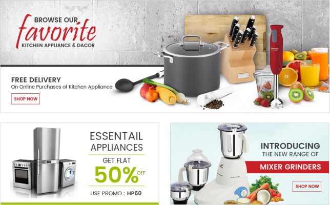 Galaxy of Home & Kitchen Products