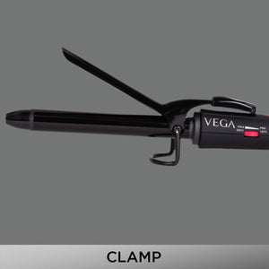 VEGA Smooth Curl Hair Curler-19 mm (VHCH-03), Black