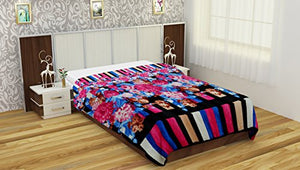 NC Creation Cotton Blanket - Multi-Color - IndiaCliq