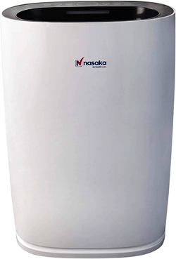 Nasaka Verve S1 60-Watt Portable Room Air Purifier (White)