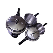 Load image into Gallery viewer, FABIANO NON STICK 3 PCS PRESSURE COOKER - IndiaCliq