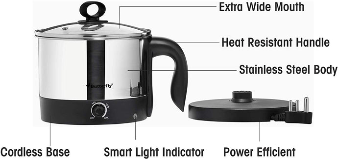 Butterfly Wave 1.2-Litre Multi Cooker - IndiaCliq