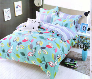 Double Bedsheet Set With 2 Pillow Covers - IndiaCliq