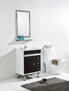 Phase  Designer Art Bathroom Vanity With Mirror Shelf & Wash Basin
