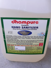 Load image into Gallery viewer, Dhampure Ethyl Alcahol Based Hand Sanitizer 5ltrs - IndiaCliq