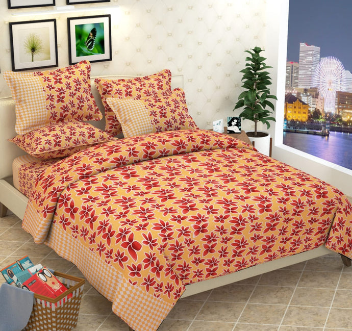 Myra Double Bed Sheet - IndiaCliq