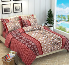 Load image into Gallery viewer, Myra Multicolored Double Bedsheet - IndiaCliq