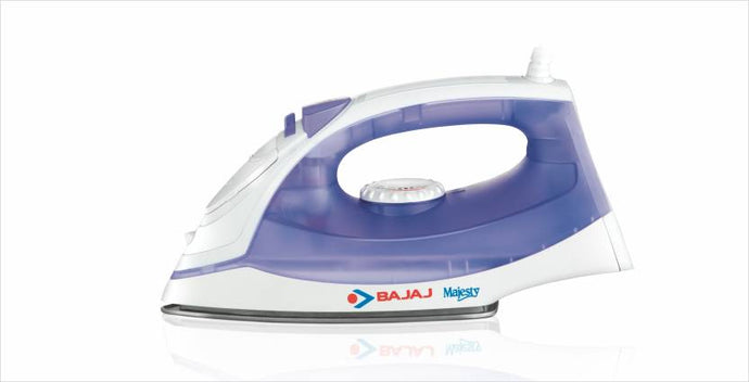Bajaj Majesty MX3 Steam Iron  (White, Purple) - IndiaCliq